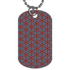 Cute Seamless Tile Pattern Gifts Dog Tag (two Sides) by creativemom