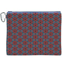 Cute Seamless Tile Pattern Gifts Canvas Cosmetic Bag (XXXL)  by creativemom