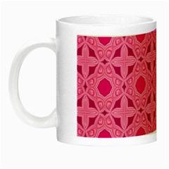 Cute Seamless Tile Pattern Gifts Night Luminous Mugs by creativemom