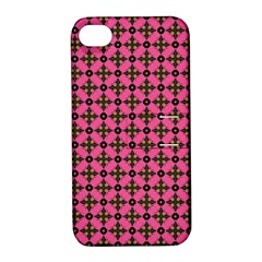 Cute Seamless Tile Pattern Gifts Apple Iphone 4/4s Hardshell Case With Stand by creativemom