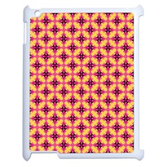 Cute Seamless Tile Pattern Gifts Apple Ipad 2 Case (white) by creativemom