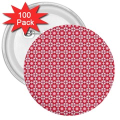 Cute Seamless Tile Pattern Gifts 3  Buttons (100 Pack)  by creativemom