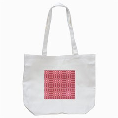 Cute Seamless Tile Pattern Gifts Tote Bag (white)  by creativemom