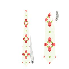 Cute Seamless Tile Pattern Gifts Neckties (Two Side)  by creativemom