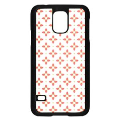 Cute Seamless Tile Pattern Gifts Samsung Galaxy S5 Case (black) by creativemom
