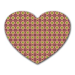 Cute Seamless Tile Pattern Gifts Heart Mousepads by creativemom