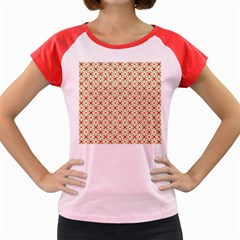 Cute Seamless Tile Pattern Gifts Women s Cap Sleeve T-Shirt by creativemom