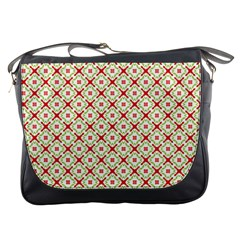 Cute Seamless Tile Pattern Gifts Messenger Bags by creativemom