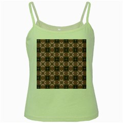 Cute Seamless Tile Pattern Gifts Green Spaghetti Tanks by creativemom