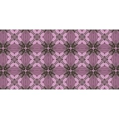 Cute Seamless Tile Pattern Gifts YOU ARE INVITED 3D Greeting Card (8x4)  by creativemom