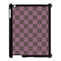 Cute Seamless Tile Pattern Gifts Apple Ipad 3/4 Case (black) by creativemom