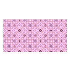 Cute Seamless Tile Pattern Gifts Satin Shawl