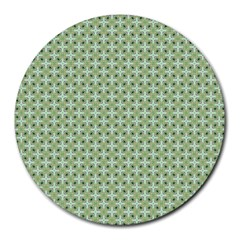 Cute Seamless Tile Pattern Gifts Round Mousepads by creativemom