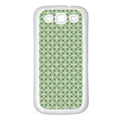 Cute Seamless Tile Pattern Gifts Samsung Galaxy S3 Back Case (white) by creativemom