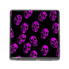 Purple Skulls  Memory Card Reader (square)