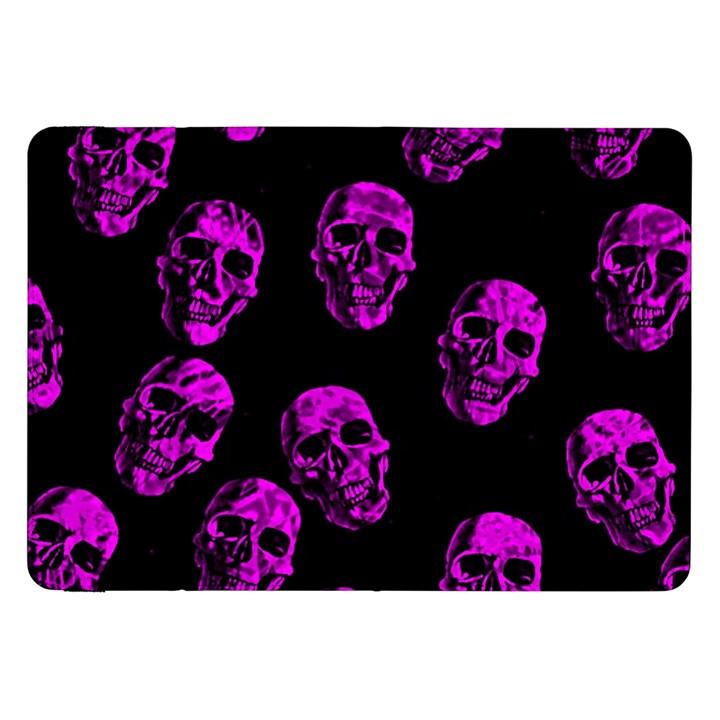 Purple Skulls  Samsung Galaxy Tab 8.9  P7300 Flip Case