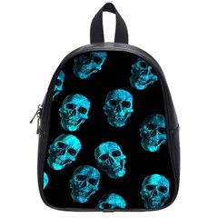 Skulls Blue School Bags (small)  by ImpressiveMoments
