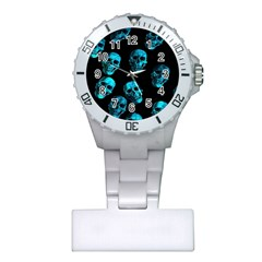 Skulls Blue Nurses Watches by ImpressiveMoments
