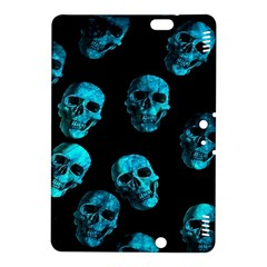 Skulls Blue Kindle Fire HDX 8.9  Hardshell Case by ImpressiveMoments