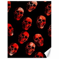 Skulls Red Canvas 18  x 24   by ImpressiveMoments