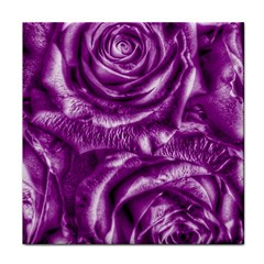 Gorgeous Roses,purple  Tile Coasters