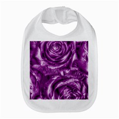Gorgeous Roses,purple  Bib by MoreColorsinLife
