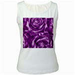 Gorgeous Roses,purple  Women s Tank Tops
