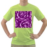 Gorgeous Roses,purple  Green T-Shirt