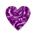 Gorgeous Roses,purple  Heart Magnet