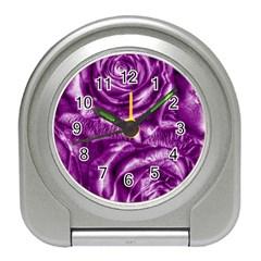 Gorgeous Roses,purple  Travel Alarm Clocks