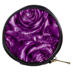 Gorgeous Roses,purple  Mini Makeup Bags