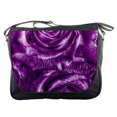 Gorgeous Roses,purple  Messenger Bags