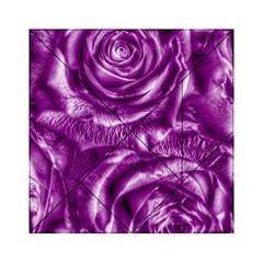 Gorgeous Roses,purple  Acrylic Tangram Puzzle (6  X 6 )