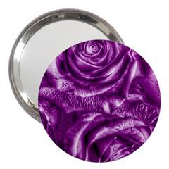 Gorgeous Roses,purple  3  Handbag Mirrors