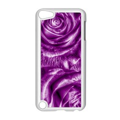 Gorgeous Roses,purple  Apple Ipod Touch 5 Case (white)