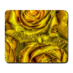 Gorgeous Roses, Yellow  Large Mousepads by MoreColorsinLife