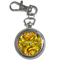 Gorgeous Roses, Yellow  Key Chain Watches