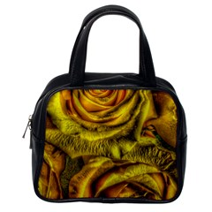 Gorgeous Roses, Yellow  Classic Handbags (one Side)
