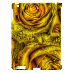 Gorgeous Roses, Yellow  Apple Ipad 3/4 Hardshell Case (compatible With Smart Cover)