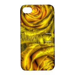 Gorgeous Roses, Yellow  Apple Iphone 4/4s Hardshell Case With Stand