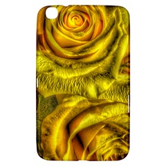 Gorgeous Roses, Yellow  Samsung Galaxy Tab 3 (8 ) T3100 Hardshell Case