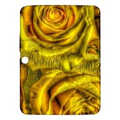 Gorgeous Roses, Yellow  Samsung Galaxy Tab 3 (10 1 ) P5200 Hardshell Case