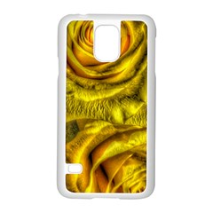 Gorgeous Roses, Yellow  Samsung Galaxy S5 Case (white) by MoreColorsinLife