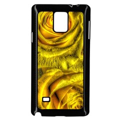 Gorgeous Roses, Yellow  Samsung Galaxy Note 4 Case (black)