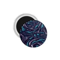 Gorgeous Roses, Aqua 1 75  Magnets
