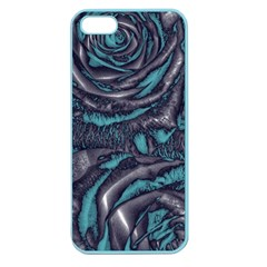 Gorgeous Roses, Aqua Apple Seamless Iphone 5 Case (color) by MoreColorsinLife