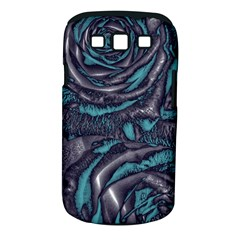 Gorgeous Roses, Aqua Samsung Galaxy S Iii Classic Hardshell Case (pc+silicone)
