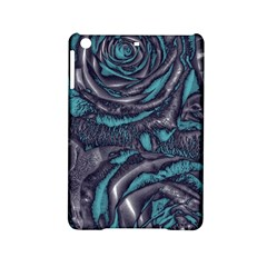 Gorgeous Roses, Aqua Ipad Mini 2 Hardshell Cases by MoreColorsinLife