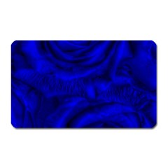 Gorgeous Roses,deep Blue Magnet (rectangular)