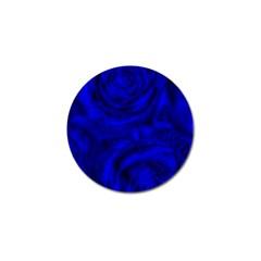 Gorgeous Roses,deep Blue Golf Ball Marker